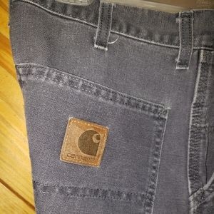Carhartt pants size 33 x 30 heavy Dungarees